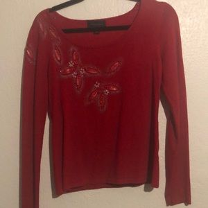 Investments women's shirt red small